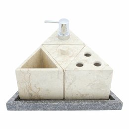 5-Delige Marmeren Badset Batu