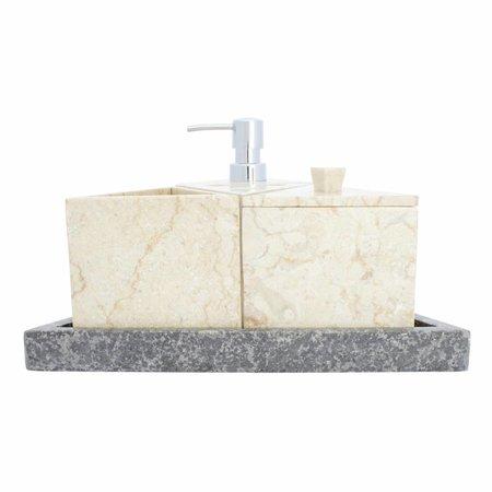 Indomarmer 5-Delige Marmeren Badset Batu