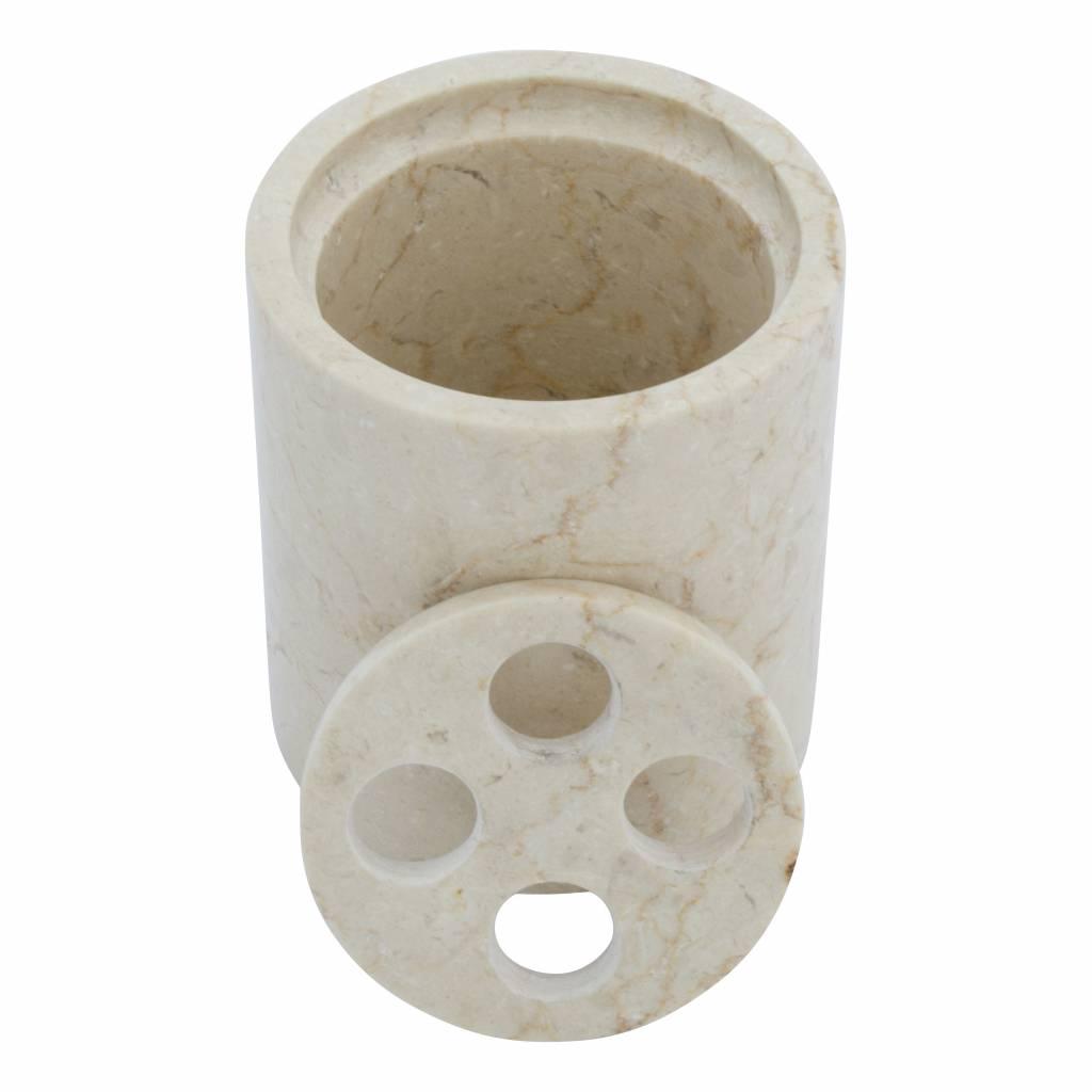 Indomarmer Marmor Zahnbürstenhalter Madiun
