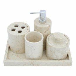 Indomarmer 5-piece Marble bath set Madiun