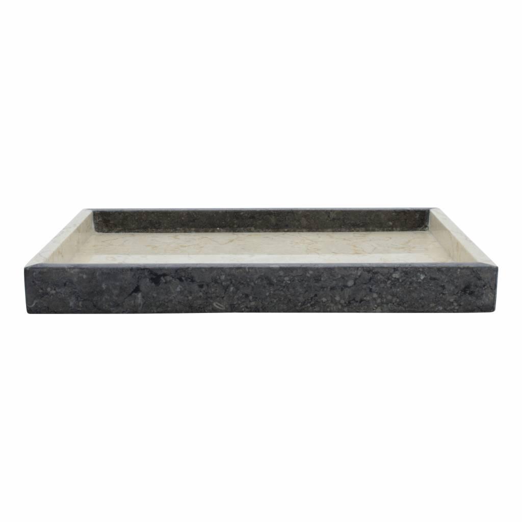 Indomarmer Marmor Serviertablett Aguna