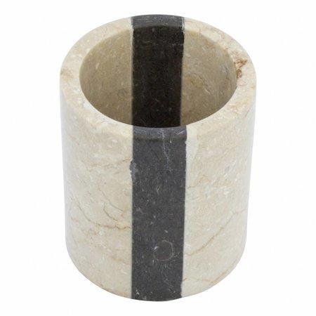 Indomarmer Marble Toothbrush Cup Aguna
