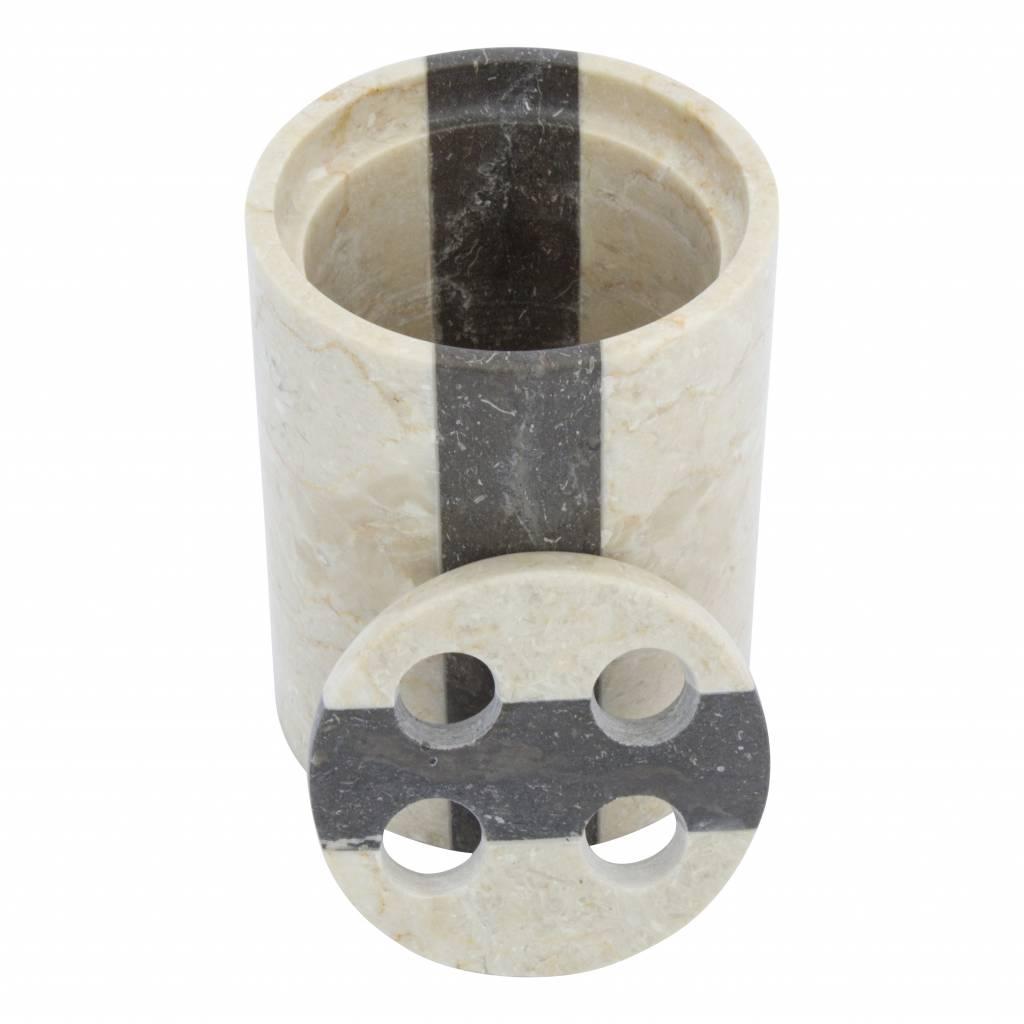 Indomarmer 6-Delige Badset Aguna Marmer