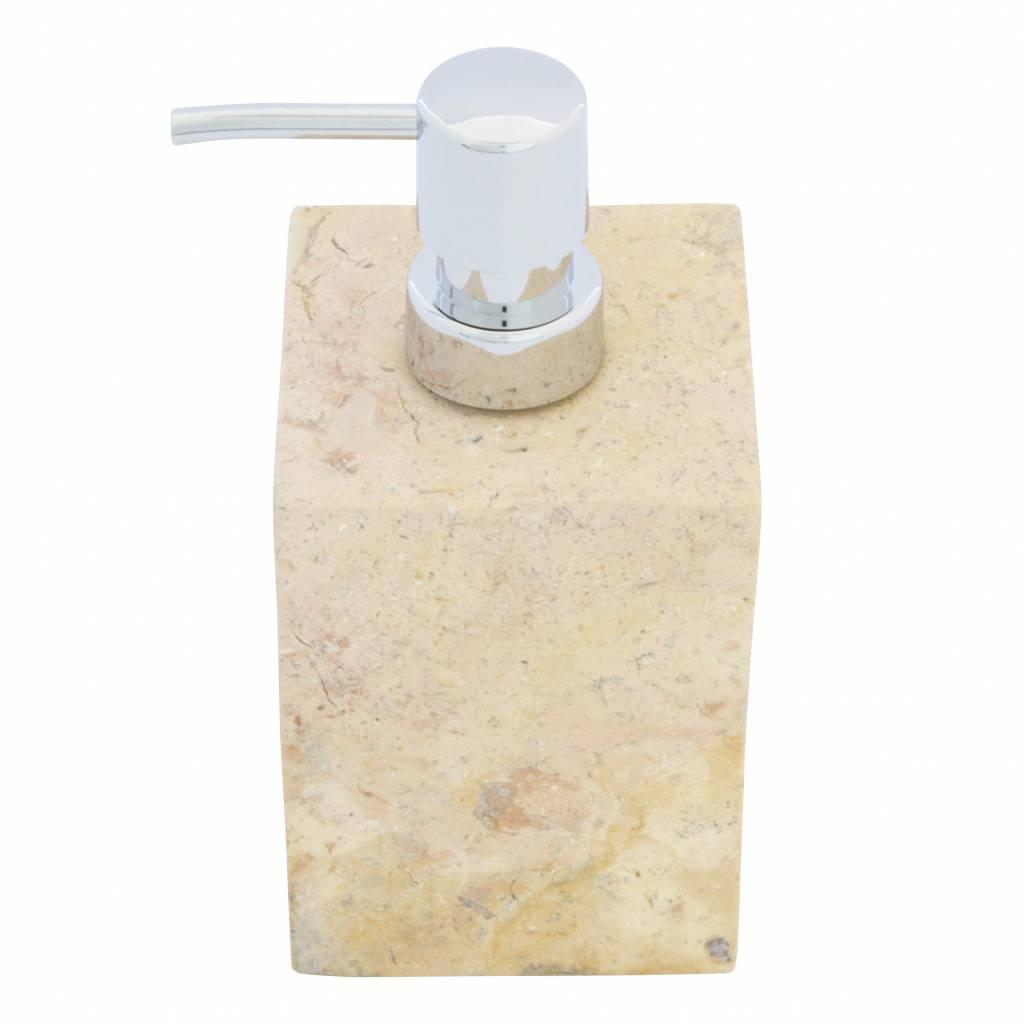Indomarmer Marmor Seifenspender Java Squa