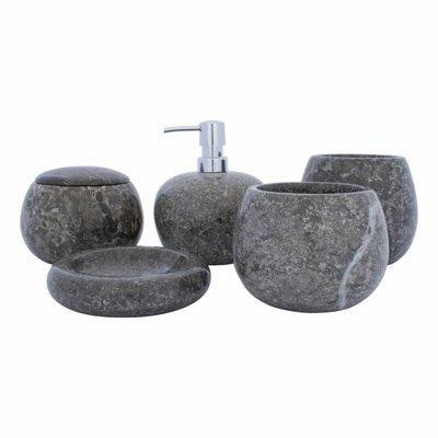 5-Teilige Marmor Badeset Lya