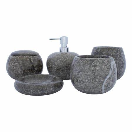 Indomarmer 5-Teilige Marmor Badeset Lya