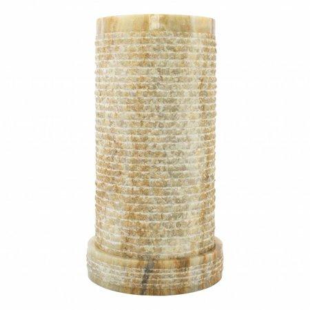 Indomarmer Cilinder Tafellamp Onyx