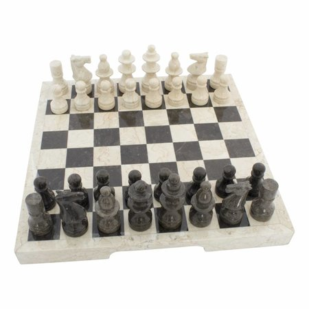 Indomarmer Marble Chessboard 45 x 45 cm Model 1