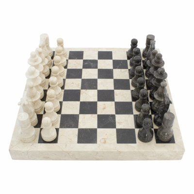 Indomarmer Marble Chessboard 40x40cm Model 1
