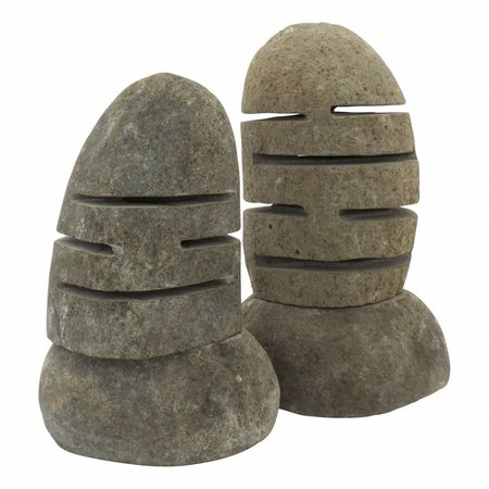 Indomarmer River Stone Lamp Flores