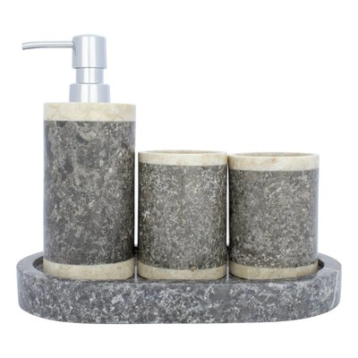 Indomarmer 4-piece Marble bath set Medang