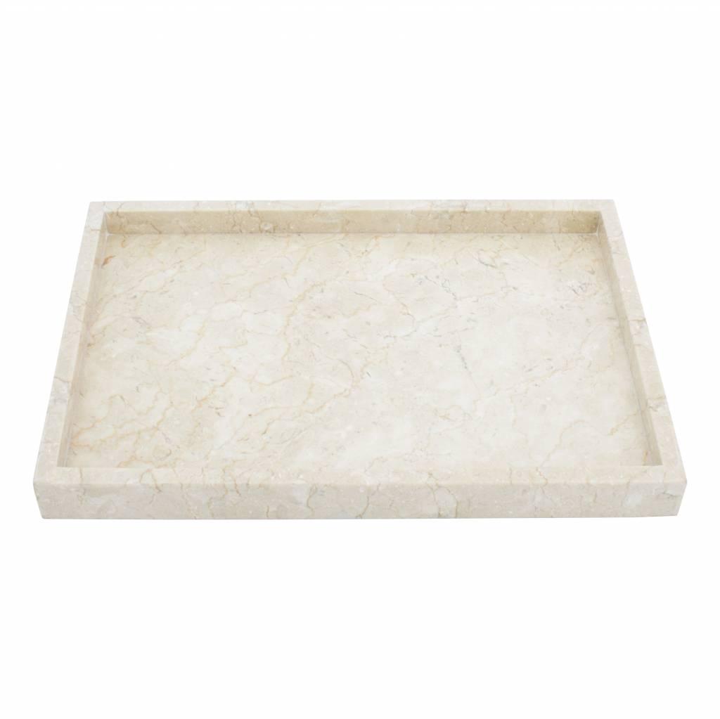 Vania Salon Tafel.Marmeren Dienblad Vania Indomarmer