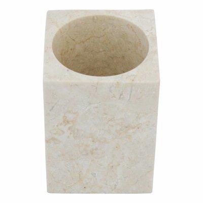 Indomarmer Marmor Zahnbürstenbecher Vania