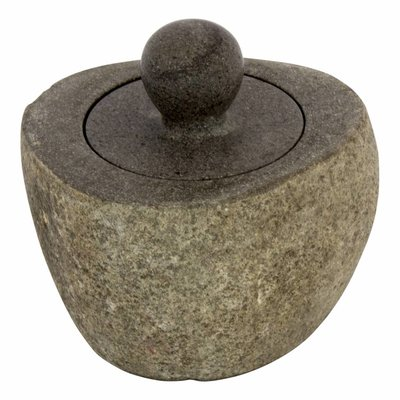River Stone Jewellery box with Handle Flores