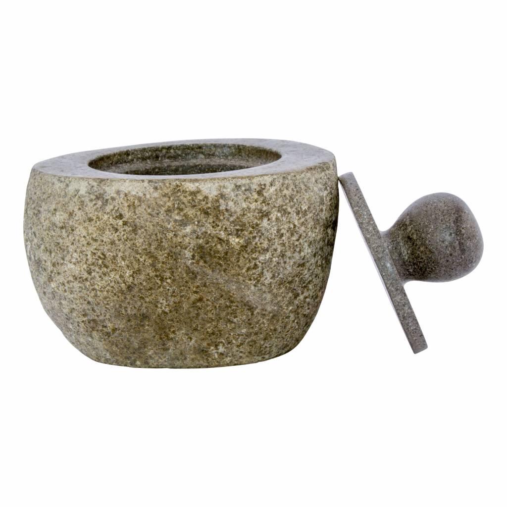 Indomarmer 6-piece River Stone bath set Flores