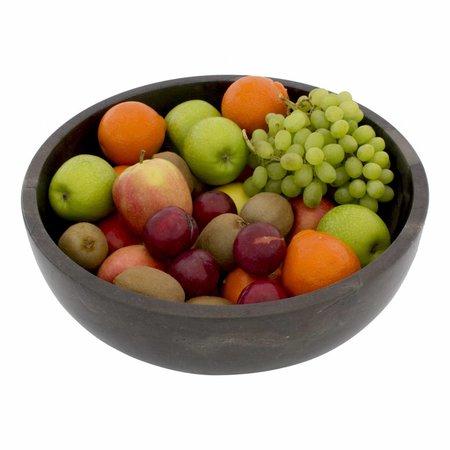 Indomarmer Black Marble Fruit bowl Ø 40 cm