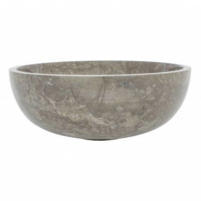 Indomarmer Gray Marble Fruit bowl Ø 40 cm