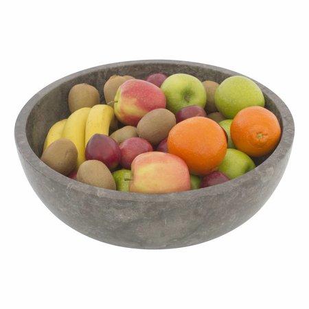 Gray Marble Fruit bowl Ø 40 cm