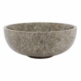 Indomarmer Gray Marble Fruit bowl Ø 25 cm