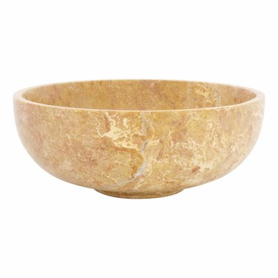 Indomarmer Java Rose Marble Fruit bowl Ø 25 cm