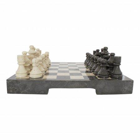 Schachbrett aus Marmor 40x40cm Modell 2