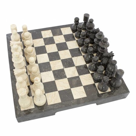 Indomarmer Marble Chessboard 40x40cm Model 2