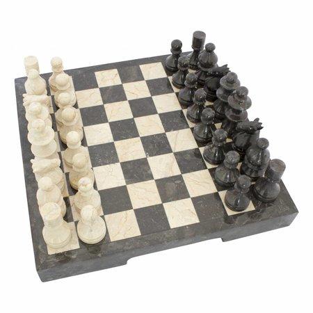 Marble Chessboard 40x40cm Model 2
