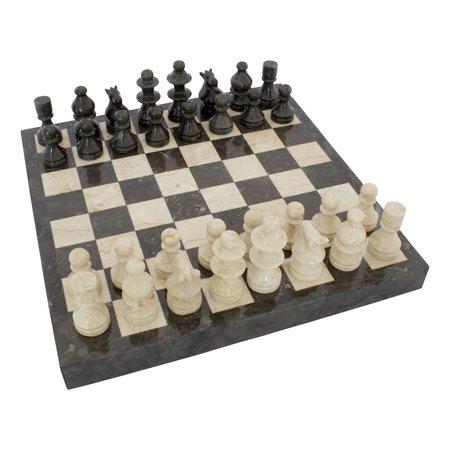Schachbrett aus Marmor 45x45cm Modell 2