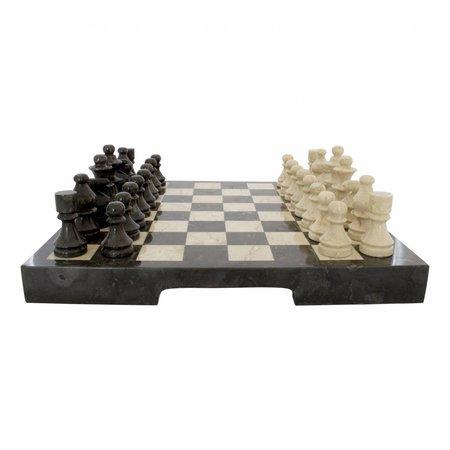 Indomarmer Marble Chessboard 45x45cm Model 2