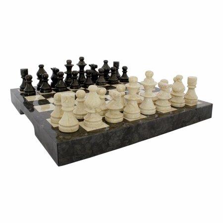 Indomarmer Schaakbord Marmer 45 x 45 cm Model 2