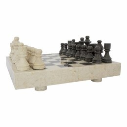 Indomarmer Marble Chessboard 40x40cm Model 3