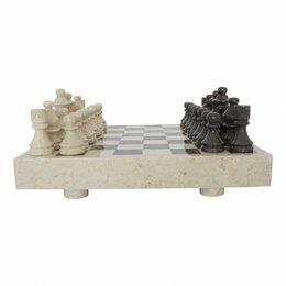 Indomarmer Schachbrett aus Marmor 40x40cm Modell 3