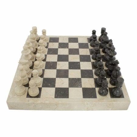 Indomarmer Marble Chessboard 45x45cm Model 3