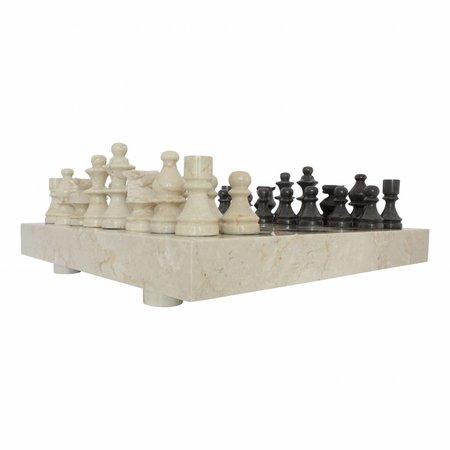 Indomarmer Schaakbord Marmer 45 x 45 cm Model 3