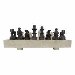 Schachbrett aus Marmor 45x45cm Modell 3