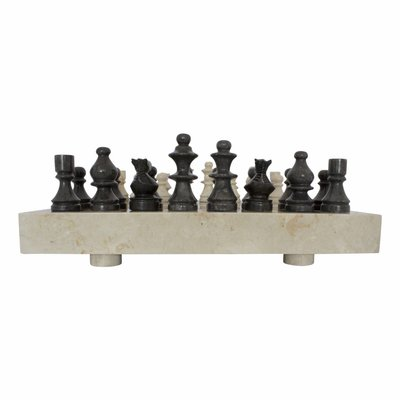 Indomarmer Marble Chessboard 45x45cm Model 3