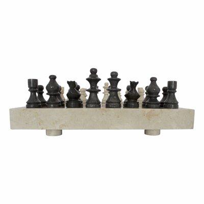 Schaakbord Marmer 45 x 45 cm Model 3