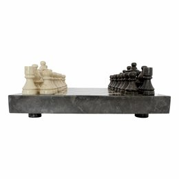 Indomarmer Schaakbord Marmer 40x40cm Model  4