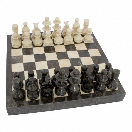 Indomarmer Schachbrett aus Marmor 40x40cm Modell 4