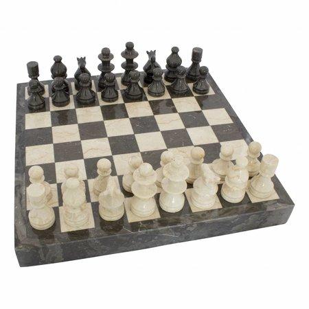 Schachbrett aus Marmor 45x45cm Modell 4