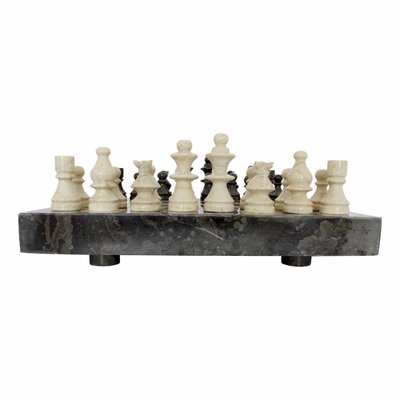 Indomarmer Marble Chessboard 45x45cm Model 4
