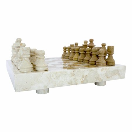 Indomarmer Marble Chessboard 40x40cm Model 5