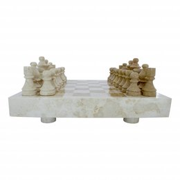 Indomarmer Marble Chessboard 40x40cm Model 5