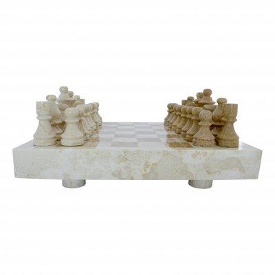 Schachbrett aus Marmor 40x40cm Modell 5