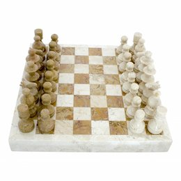 Marble Chessboard 40x40cm Model 6