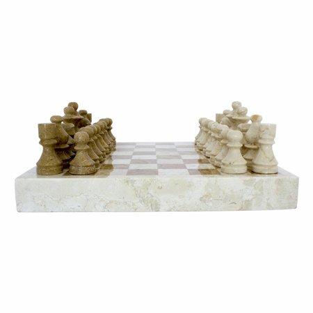Schachbrett aus Marmor 40x40cm Modell 6