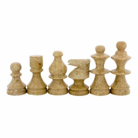 Indomarmer Schachbrett aus Marmor 40x40cm Modell 6