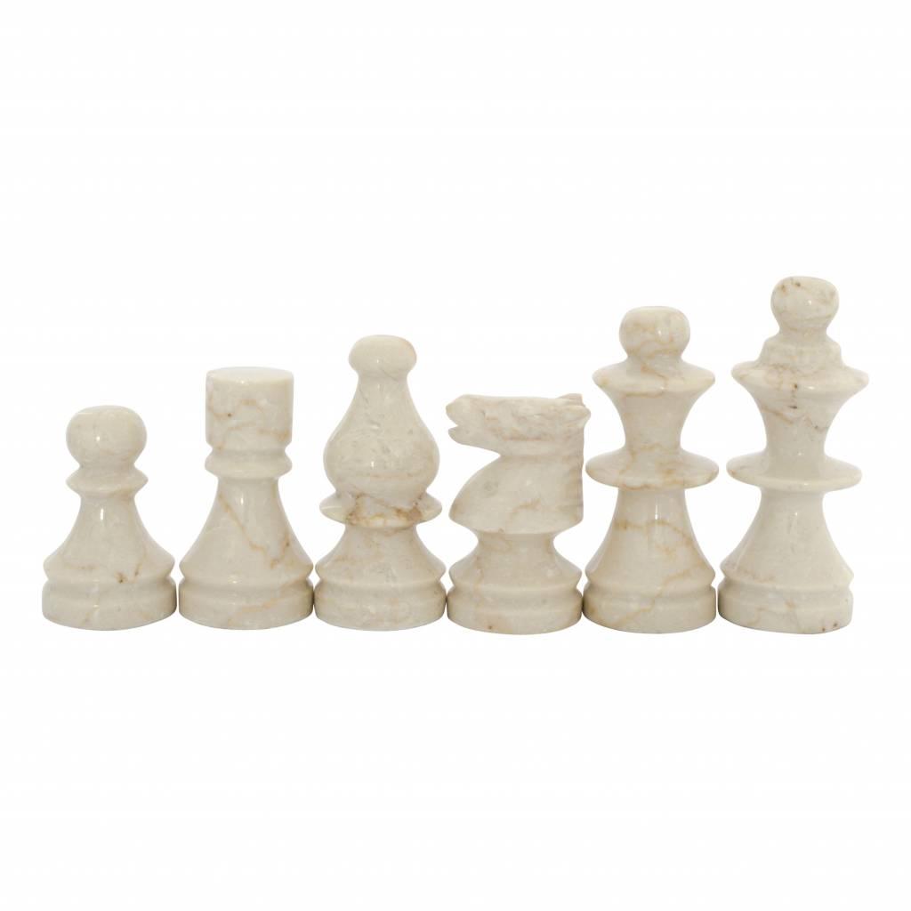 Indomarmer Schachbrett aus Marmor 45x45cm Modell 1