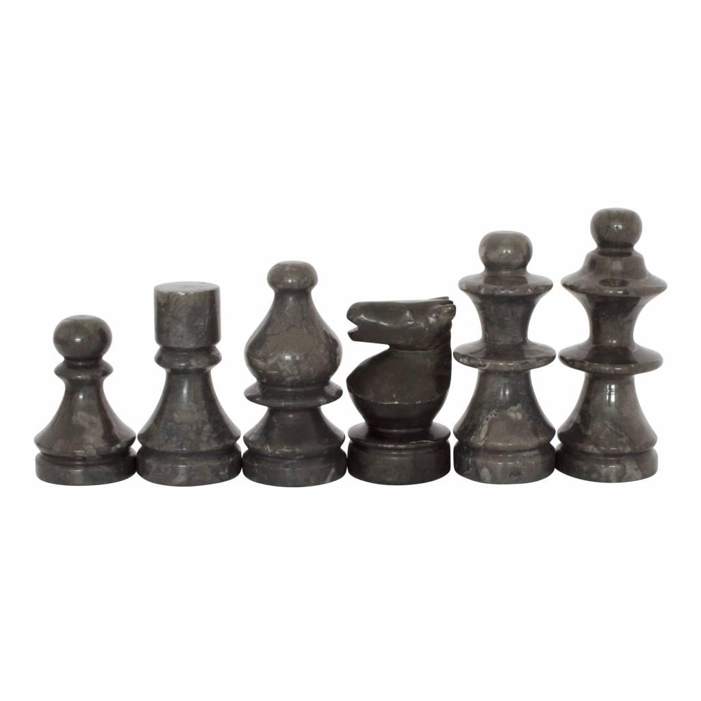 Indomarmer Marble Chessboard 45x45cm Model 4