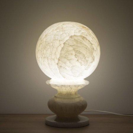 Indomarmer Kugel Lampe Onyx